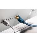 Kabel Patchcord CAT 6A S/FTP RJ45/RJ45 1m Clicktronic