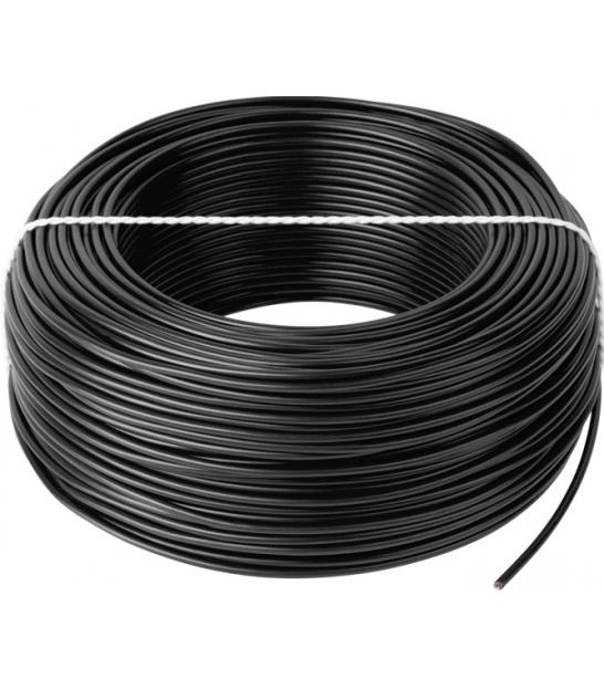 Przewód LgY 1x0,75 H05V-K czarny 100m