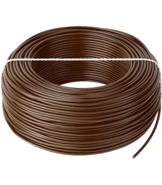Przewód LgY 1x0,5 H05V-K brązowy