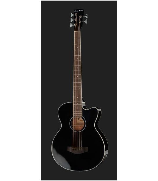 Bas akustyczny 5-strunowy Harley Benton B-35BK