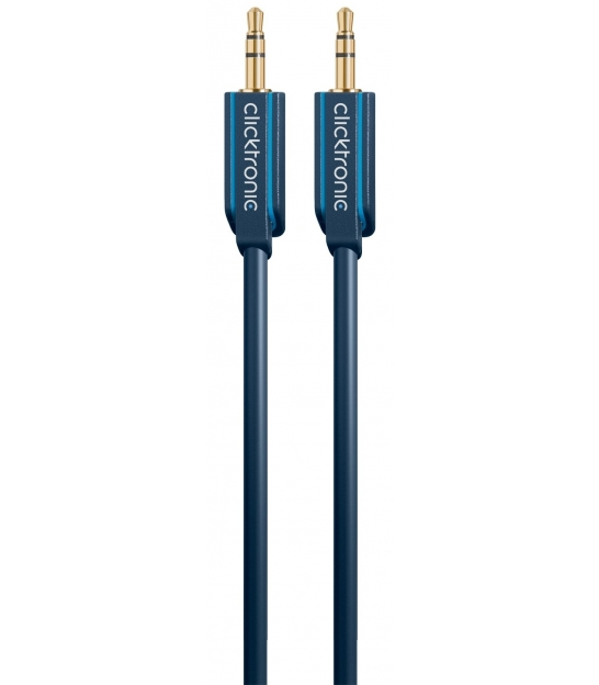 Kabel (aux) 3,5mm wtyk / 3,5mm wtyk 10m Clicktronic