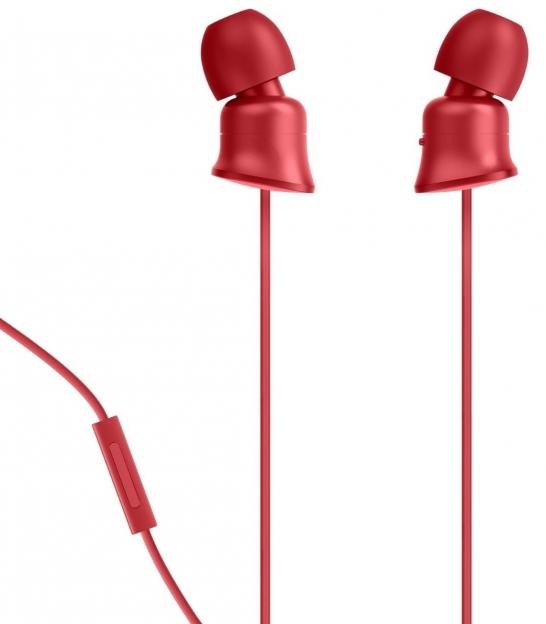 Słuchawki BELKIN Mixit PureAV 002 czerwone
