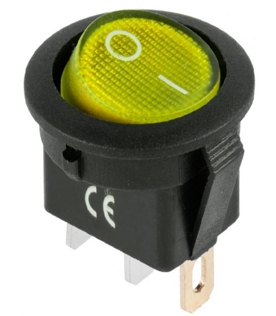 Przełącznik IRS-101-8C/D żółty 12