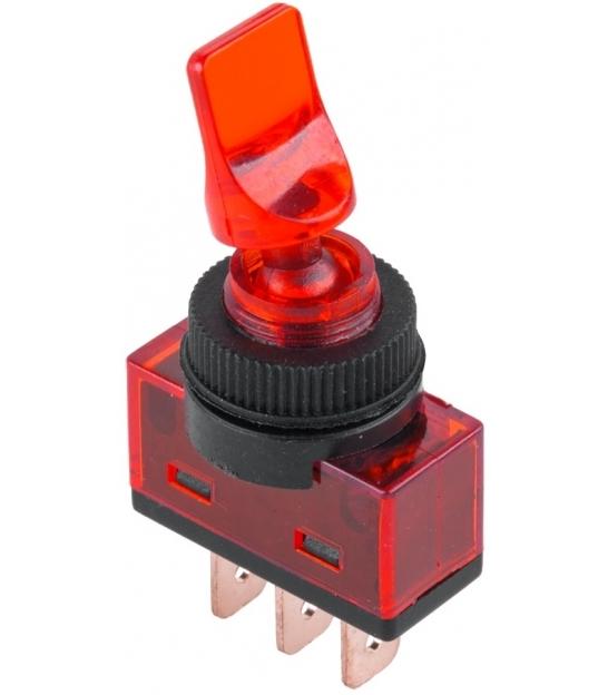 Złącze przełącznik ASW-14D czerwony
