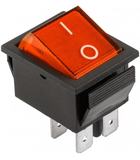 Złącze przełącznik IRS-201-1A czerwony