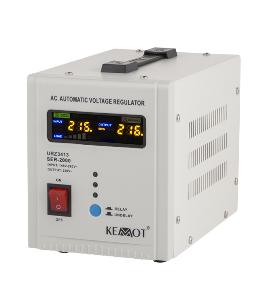 Automatyczny stabilizator napięcia KEMOT SER-2000