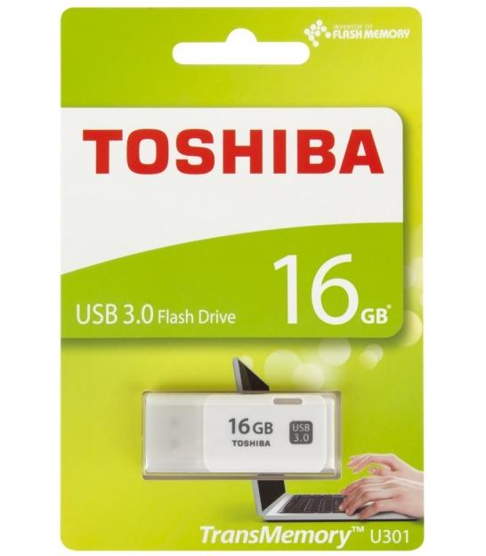 Pendrive Toshiba USB 3.0 16GB biały