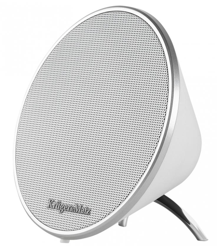 Przenośny głośnik Bluetooth Kruger&Matz Soul biały
