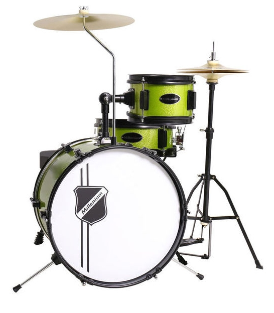 Perkusja Millenium Youngster Drum Set Green