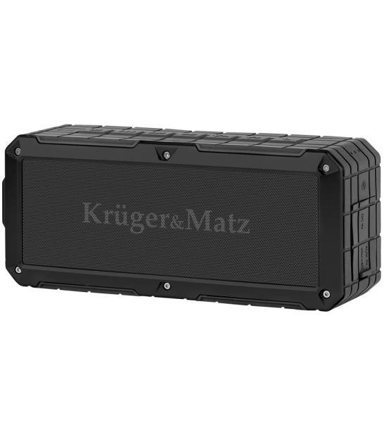 Przenośny wodoodporny głośnik Bluetooth Kruger&Matz Discovery, kolor czarny