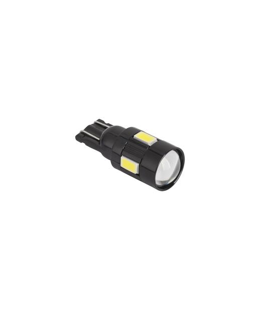Zarówka samochodowa LED (Canbus) T10 6SMD 5730 12V