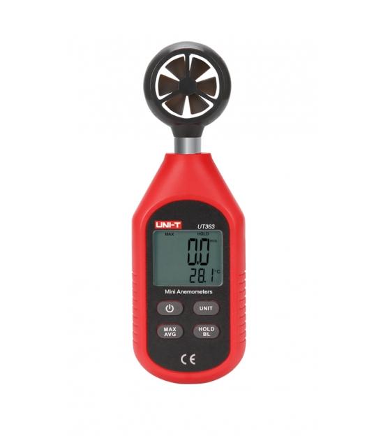 Miernik - wiatromierz z funkcją pomiaru temperatury Uni-T UT363