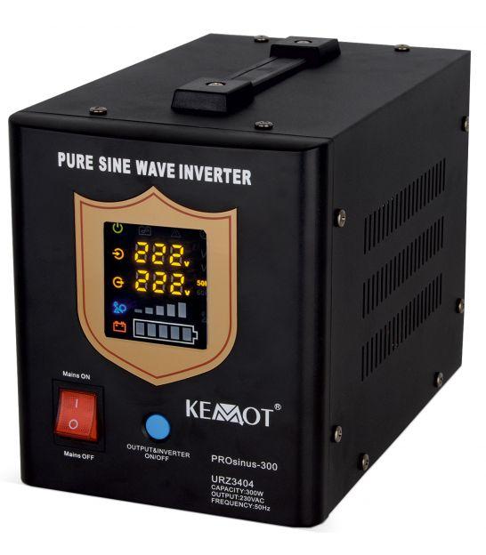 Zasilacz awaryjny UPS KEMOT PRO SINUS-300 czarny