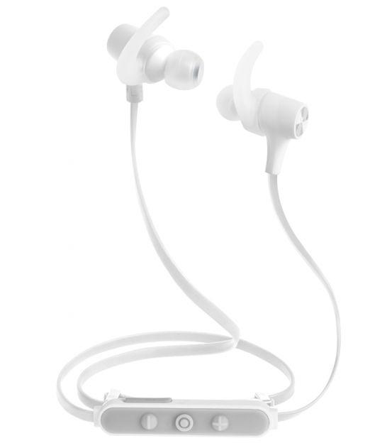 Bezprzewodowe słuchawki dokanałowe Kruger&Matz M5 - białe