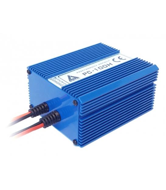 Przetwornica napięcia 10-30 VDC / 13.8 VDC PC-100H-12V 100W IZOLACJA GALWANICZNA Wodoszczelna - pełna izolacja IP67