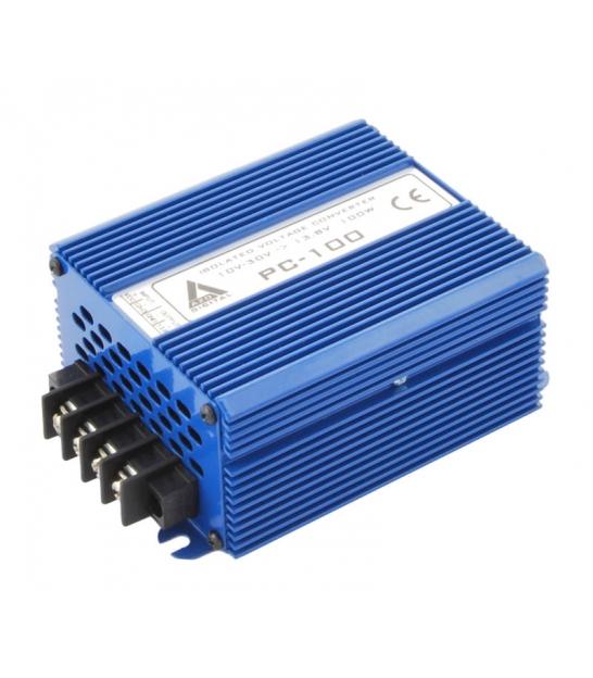 Przetwornica napięcia 10-30 VDC / 24 VDC PC-100-24V 100W IZOLACJA GALWANICZNA