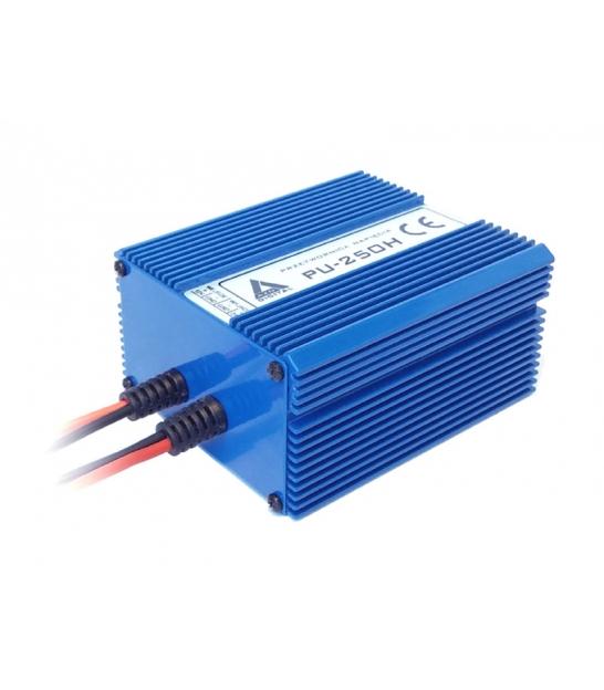 Przetwornica napięcia 10-20 VDC / 24 VDC PU-250H 24V 250W Wodoszczelna - pełna izolacja IP67