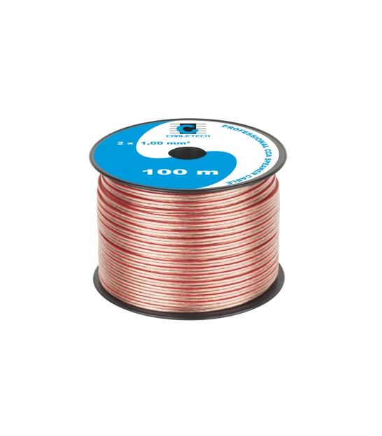 Kabel głośnikowy CCA 1.0mm