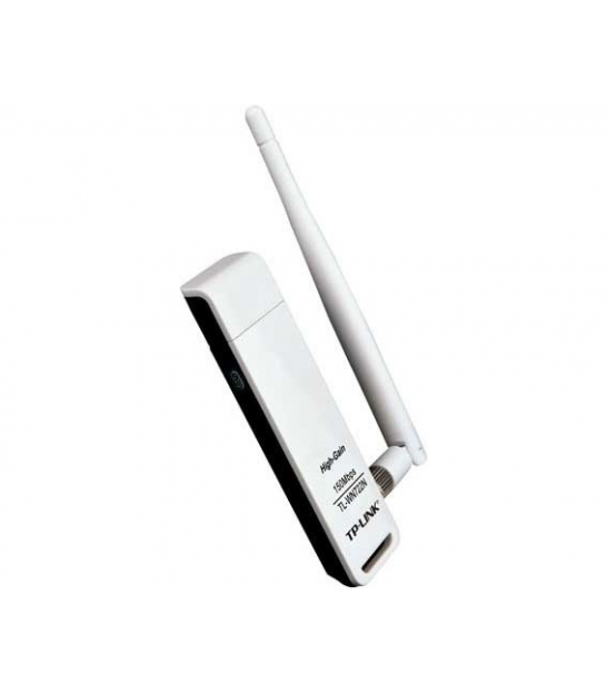 TP-LINK TL-WN722N Karta Wi-Fi USB + antena 4dBi, b/g/n, 150Mb/s