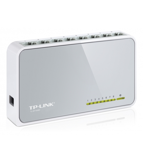 TP-LINK TL-SF1008D switch 8 portów, 10/100Mb/s
