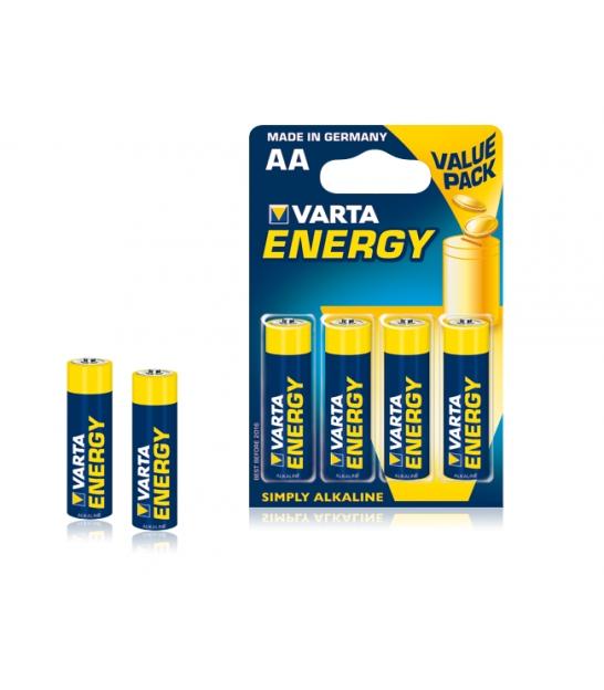 Bateria alkaliczna VARTA LR06 ENERGY 4szt./bl.