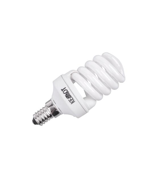Kompaktowa lampa fluorescencyjna (Świetlówka) mini spirala, 11W, E14, 2700K