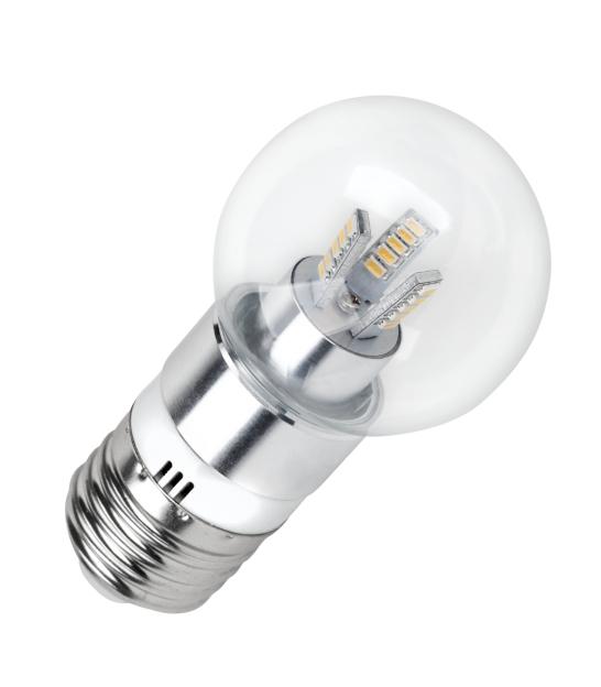 Lampa LED (30 SMD 3014) G45, 4W, E27, 3000K, 230V