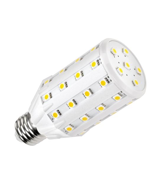 Lampa LED (46 SMD 5050) walec- 8,5W E 27 3000K, 230 V