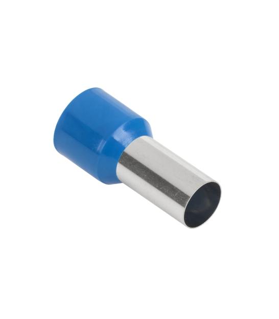 Konektor rurkowy na przewód 50mm2 niebieski KR50