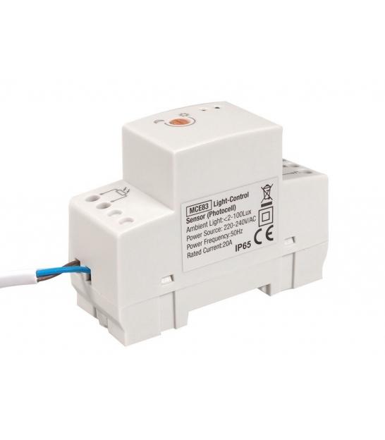 Wyłącznik zmierzchowy na szynę DIN MCE83