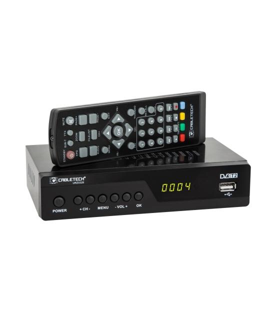 Tuner cyfrowy DVB-T2 HD do telewizji naziemnej Cabletech