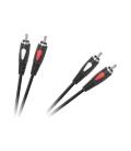 Kabel 2RCA-2RCA 5.0m Cabletech Eco-Line