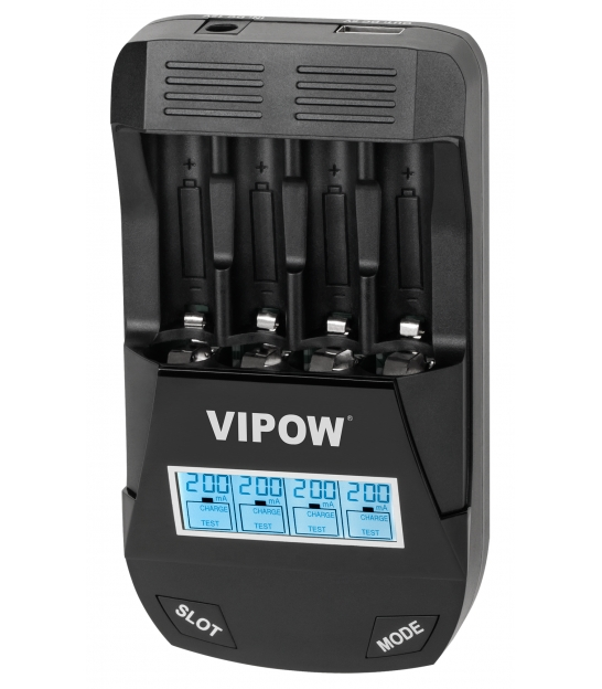 Ładowarka do akumulatorków Smart Charge Vipow