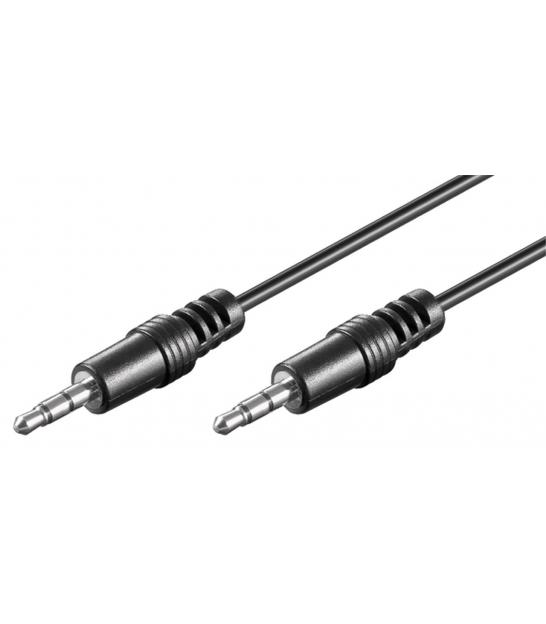 Kabel (aux) 3,5mm wtyk / 3,5mm wtyk 0,6m Goobay