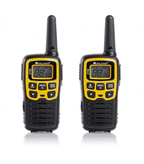 Radiotelefony ręczne PMR MIDLAND XT50 walizka