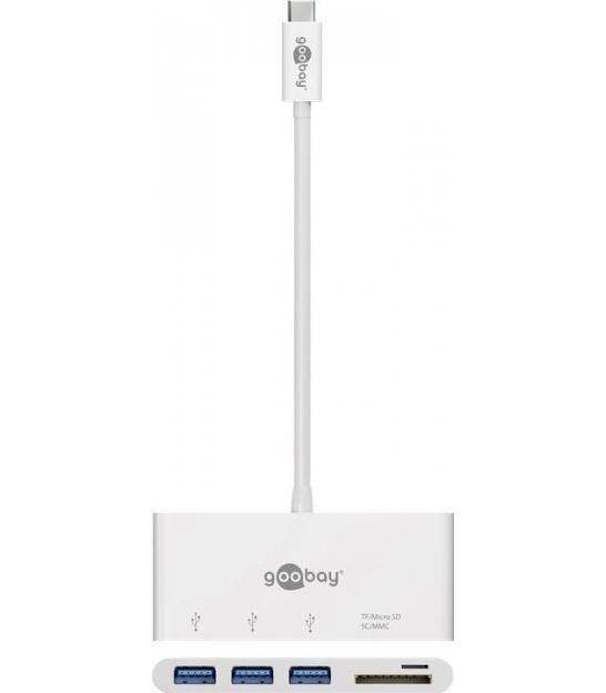 Adapter USB-C™ / 3x USB 3.0, SD/MMC i Micro SD