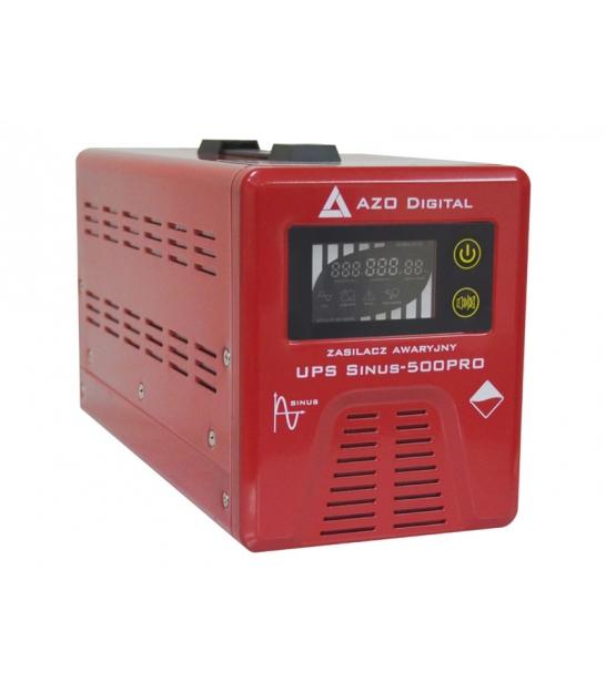 Zasilacz awaryjny (UPS + AVR) 12V Sinus-500PRO 500VA 12V/230V