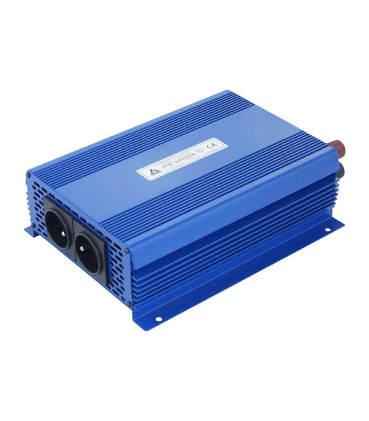 Przetwornica napięcia 12 VDC / 230 VAC ECO MODE SINUS IPS-2000S 2000W