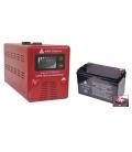 Zestaw zasilania awaryjnego Sinus-500PRO 500W + AKU 100Ah 12V AGM