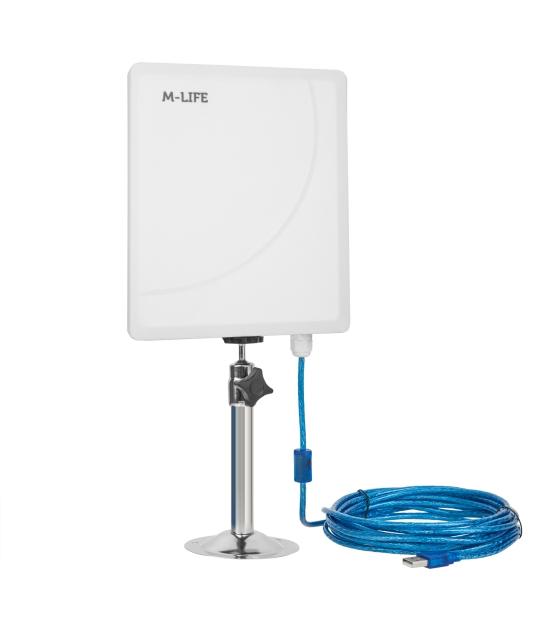 Aktywna antena WiFi USB 5GHz M-Life