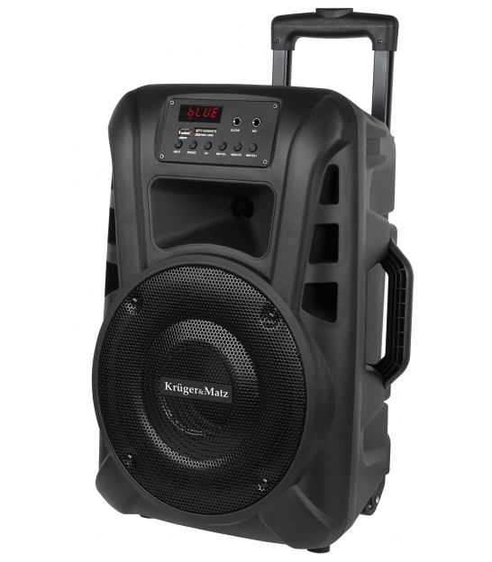 Aktywna kolumna głośnikowa (z 2 mikrofonami bezprzewodowymi UHF, SD, Bluetooth, FM, USB) 20W KM1710