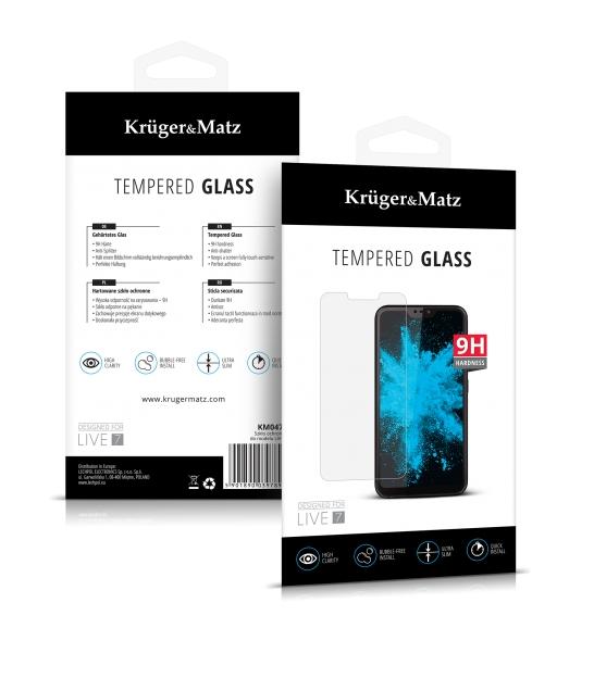 Szkło ochronne Kruger&Matz do modelu LIVE 7