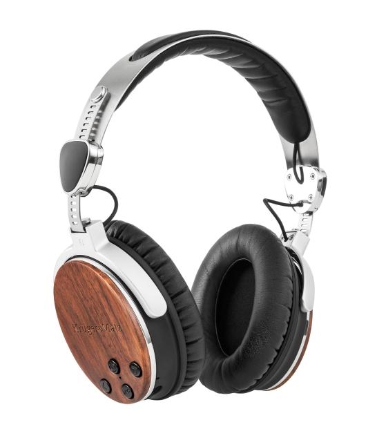 Bezprzewodowe słuchawki nauszne Kruger&Matz z aktywną redukcją szumów KM 670