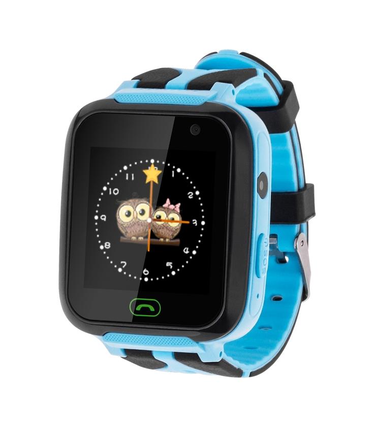 Zegarek dziecięcy Kruger&Matz SmartKid niebieski
