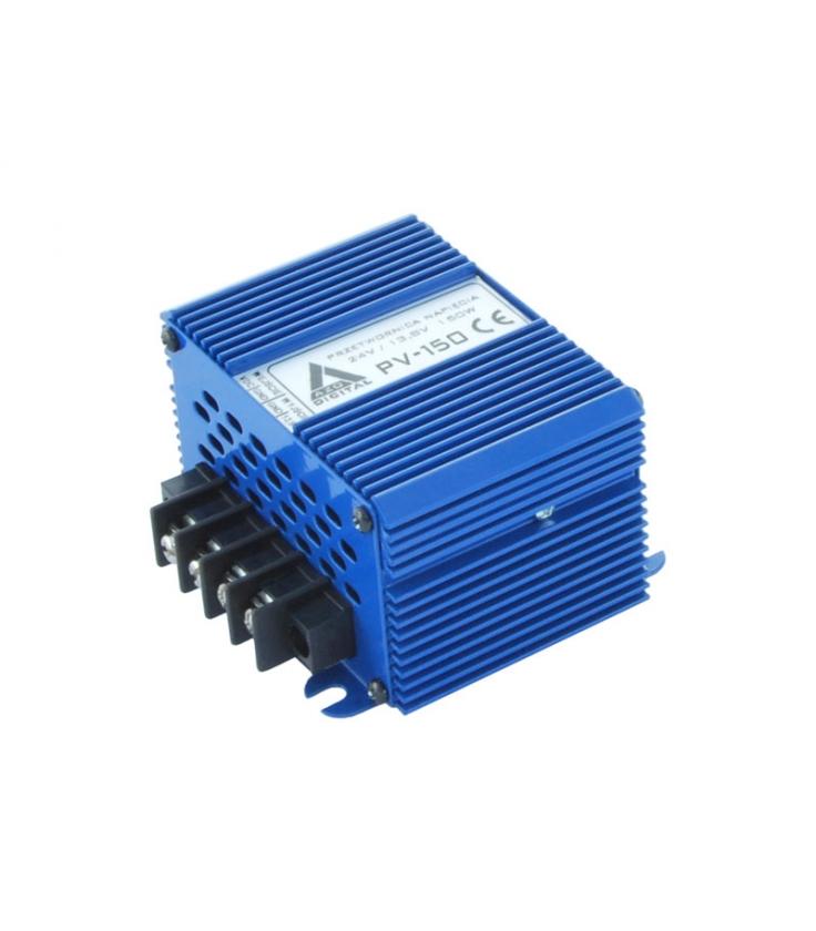 Przetwornica napięcia 20-80 VDC / 13.8 VDC PV-150 150W