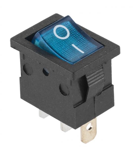 Przełącznik podświetlany MK1011 230V niebieski