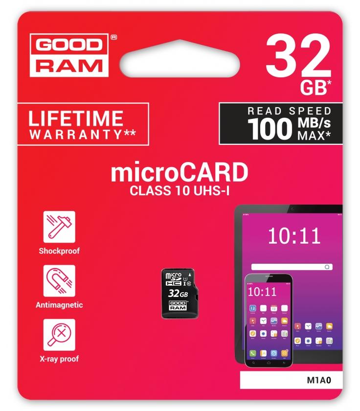 Karta pamięci microSD 32GB UHS-I Goodram