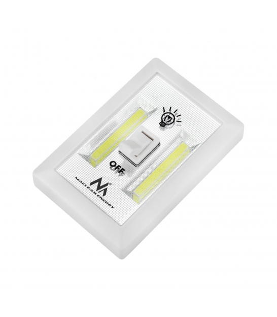 Lampa ścienna LED COB z włącznikiem MCE174