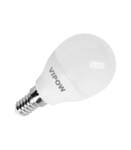 Lampa LED G45 7W, E14, 3000K, 230V