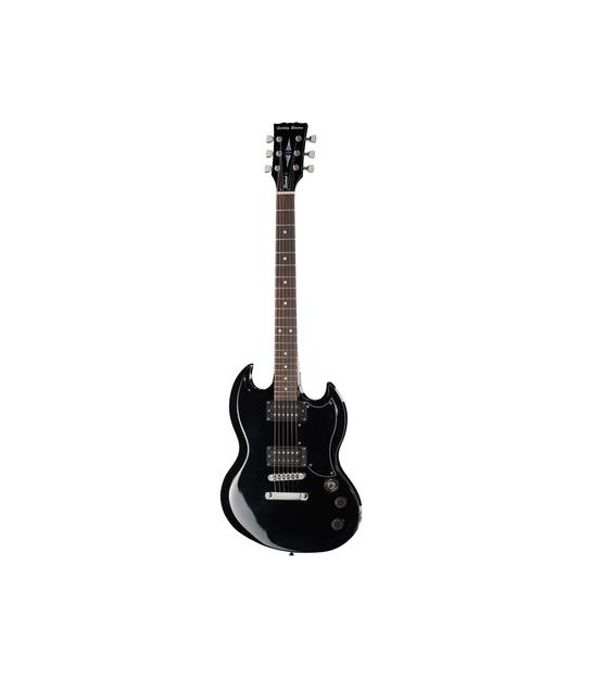 Gitara elektryczna Harley Benton DC-200 BK Student